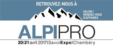 SALON ALPIPRO à CHAMBERY les 20 et 21 AVRIL 2017