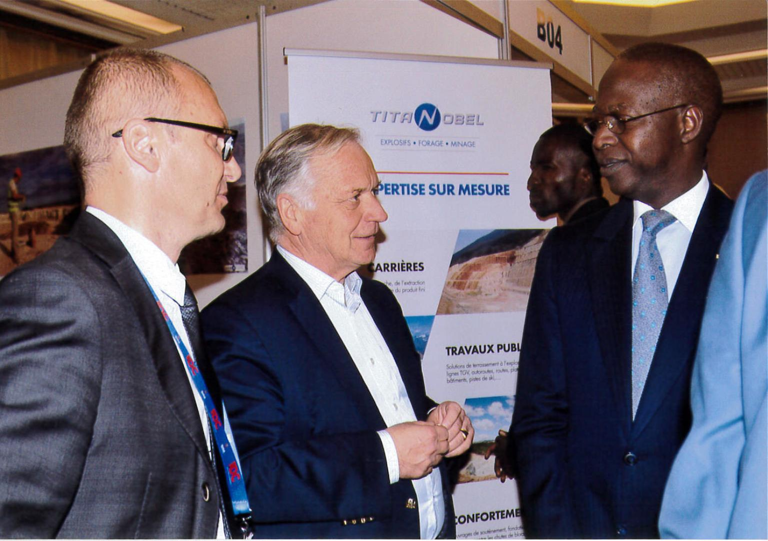 TITANOBEL was present at the SENEGAL INTERNATIONAL MINING CONFERENCE