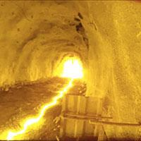 initiation of a detonation in a tunnel